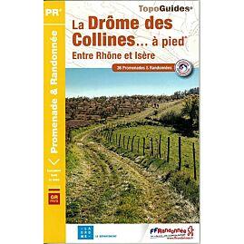 P261 LA DROME DES COLLINES A PIED ED.FFRP