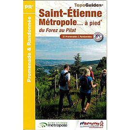 P426 SAINT ETIENNE METROPOLE A PIED ED.FFRP