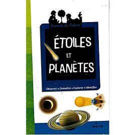 ETOILES ET PLANETES CARNET NATURE