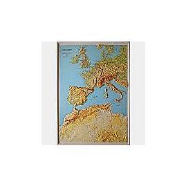 RELIEF EUROPE AFRIQUE 1.5.000.000 (60x86)