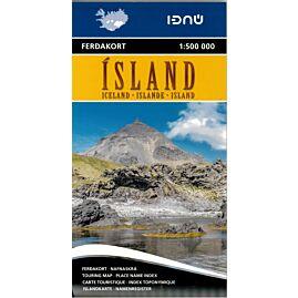 ISLAND 1.500.000 E.FERDAKORT