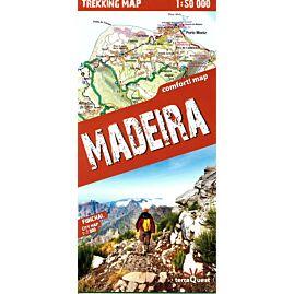 TREKKING MAP MADEIRA 1.50.000