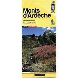 11 MONTS D ARDECHE 1 60 000 E DIDIER RICHARD