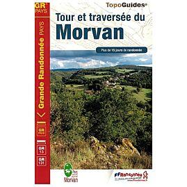 111 TOUR ET TRAVERSEE DU MORVAN ED.FFRP