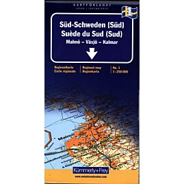 1 SUEDE DU SUD SUD ECHELLE 1 250 000