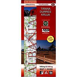 5 ALBANIA TIRANA DURRES KRUJA 1.50.000