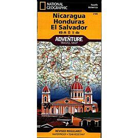 3109 NICARAGUA HONDURAS ECHELLE 1.710.000