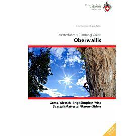 Oberwallis climbing guide