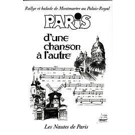 PARIS D'UNE CHANSON A L'AUTRE