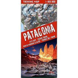 TREKKING MAP PATAGONIA 1.160.000