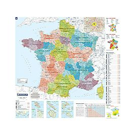 POSTER FRANCE ADMINISTRATIVE 1.1.700.000