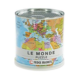 PUZZLE LE MONDE MAGNETIQUE 100 PIECES