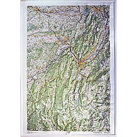 RELIEF CHARTREUSE VERCORS 1.100.000 (113x80)