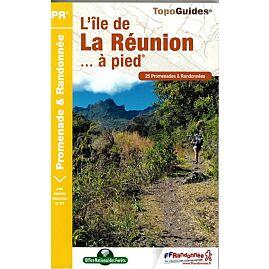 P974 ILE DE LA REUNION A PIED ED.FFRP