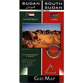 SUDAN ECHELLE 1.250.000 E.GIZI