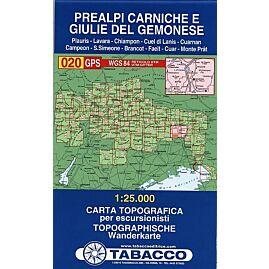 20 PREALPI CARNICHE 1 25 000