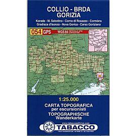 54 COLLIO BRDA GORIZIA 1 25 000