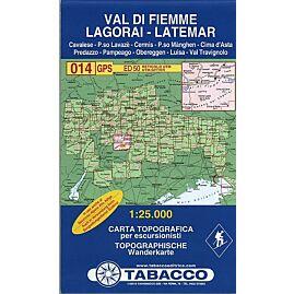14 VAL DI FIEMME LAGORAI 1 25 000