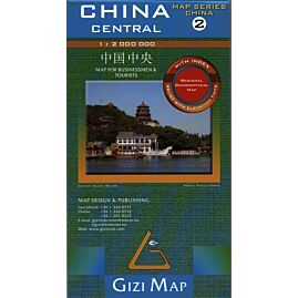 2 CHINE  CENTRALE ECHELLE 1.2.000.000 E.GIZI