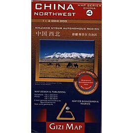 4 CHINE NORD OUEST ECHELLE 1.2.000.000 E.GIZI