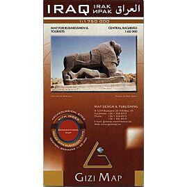 IRAQ ECHELLE 1..1.750.000 E.GIZI