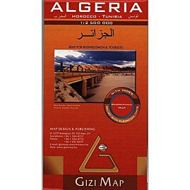 ALGERIE ECHELLE  1.2.500.000 E.GIZI