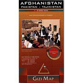 AFGHANISTAN ECHELLE 1.3.000.000 E.GIZI