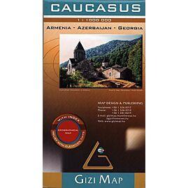 CAUCASUS ECHELLE 1.1.000.000 E.GIZI