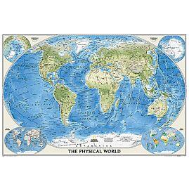 WORLD PHYSIQUE OCEAN