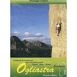 Ogliastra climbing map