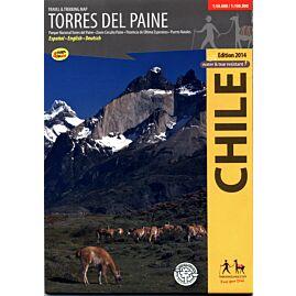 TORRES DEL PAINE 1.50.000  /  1.100.000