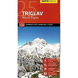 TRIGLAV MOUNT TRIGLAV 1.25.000