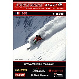 FREERIDE TROIS VALLEES V.THORENS 1.25.000