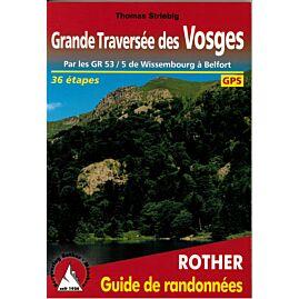ROTHER G.TRAVERSEE DES VOSGES EN FRANCAIS