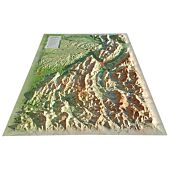 RELIEF VERCORS CHARTREUSE 61X41