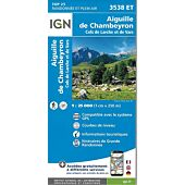 TOP25 3538ET AIGUILLE CHAMBEYRON 1 25 000