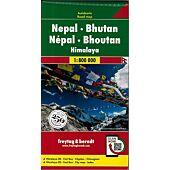 NEPAL BHOUTAN 1 800 000 E FREYTAG