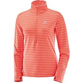 SWEAT LIGHTNING HALF ZIP W TS ML ZIPPE