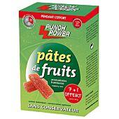 BARRE PATES DE FRUITS FRAMBOISE X 8