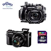 PACK G7X MARK II + CAISSON FANTASEA + CARTE 16GO