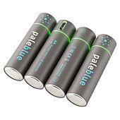 PILES ACCUS LITHIUM-ION MICRO USB 1500 mAh AA-LR06