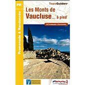 P842 LES MONTS DE VAUCLUSE A PIED ED.FFRP