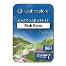 TOPO GLOBEXPLORER IGN 1/25000e PACK CORSE - GLOBEXPLORER