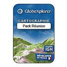 TOPO GLOBEXPLORER IGN 1/25000e PACK REUNION - GLOBEXPLORER
