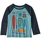 T-SHIRT MANCHES LONGUES CAPILENE COOL DAILY CREW - PATAGONIA