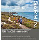 CARTOGRAPHIE TOPO FRANCE V5 PRO NORD-OUEST - GARMIN