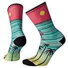 CHAUSSETTES LIFESTYLE WMS CURATED SURFING FLAMING - SMARTWOOL