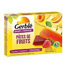 BARRES PATES DE FRUITS GERBLE X6 - GERBLE