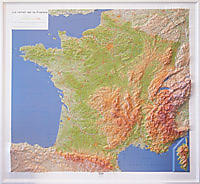 RELIEF DE LA FRANCE 1.1.160.000 (92x102)
