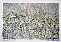 RELIEF HAUTES PYRENEES 1.100.000 (113x80)